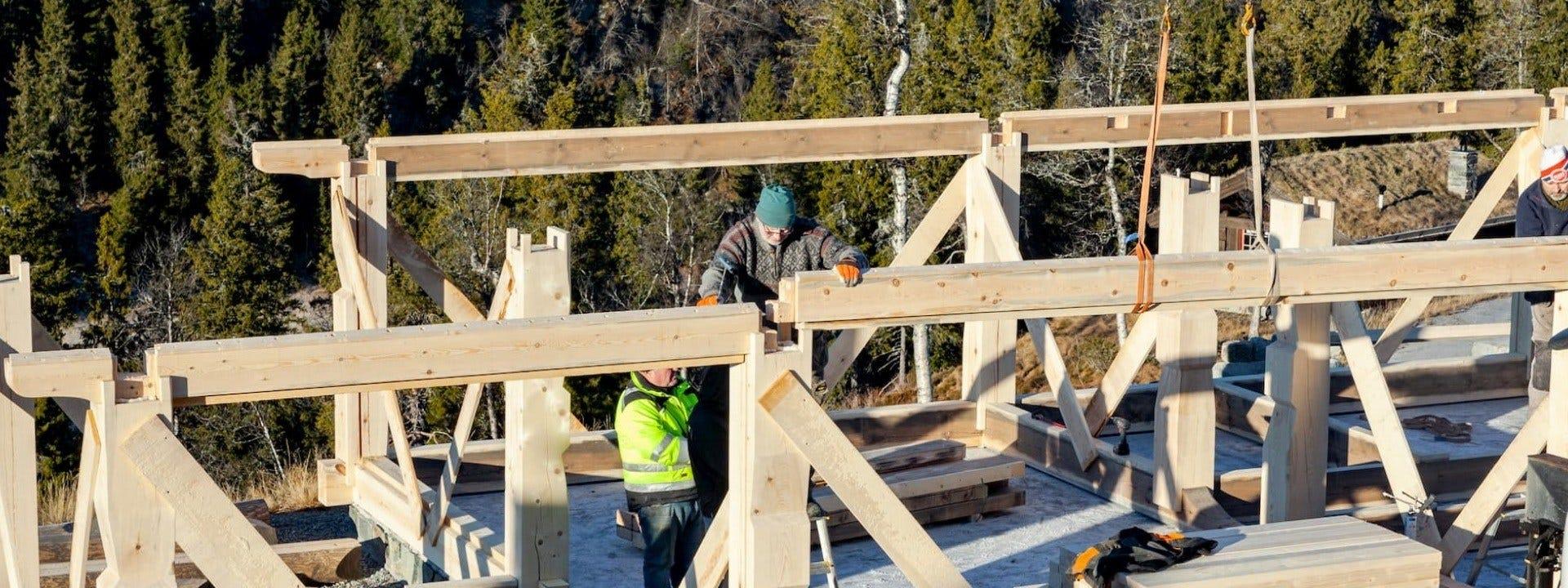 Каркасне Будівництво Будинків По-норвезьки