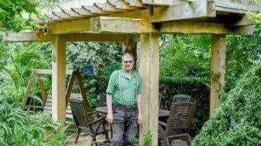 Ідея: Садова Альтанка Із Зеленим Дахом