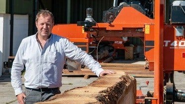 David Jones, sawmiller from Wales