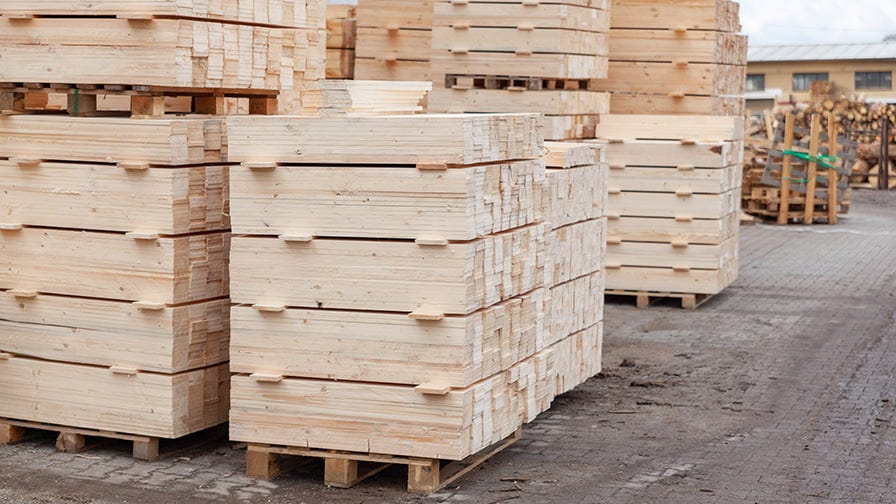 AMESKO factory produces high quality pallets