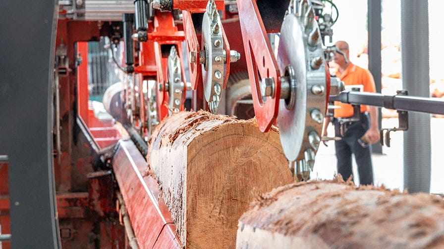 Two-sided cants move on from the Twin Vertical Saw