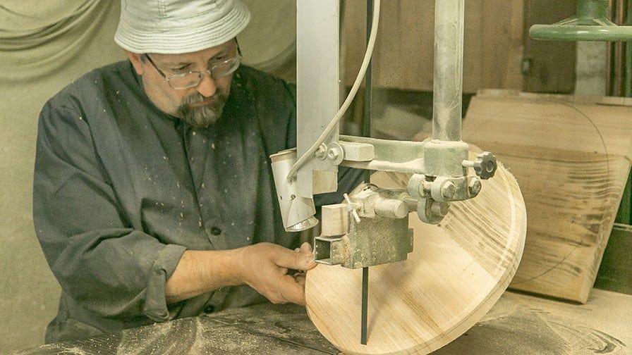 A cutting board making