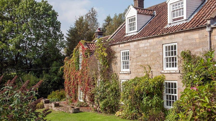 B&B cottage at the Grange Farm