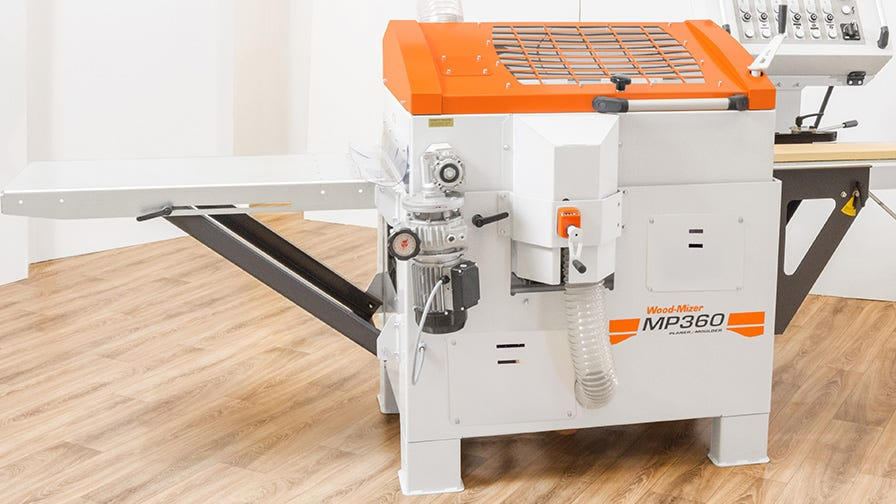 Wood-Mizer MP360 can be easily transported by a froklift