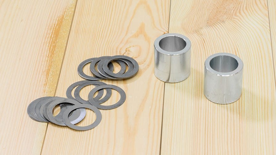 Wood-Mizer planer moulder side cutters shims and spacers