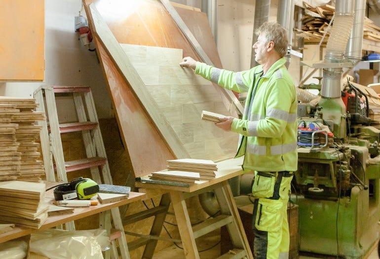 Nils Ohlin at his workshop