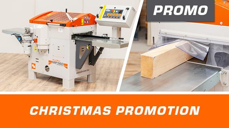Wood-Mizer Planer-Moulders Christmas Promotion